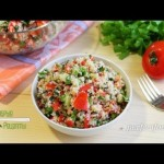Табуле Видео-рецепт салата — YouTube