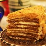 Торт — Медовик / Простой рецепт, без яиц