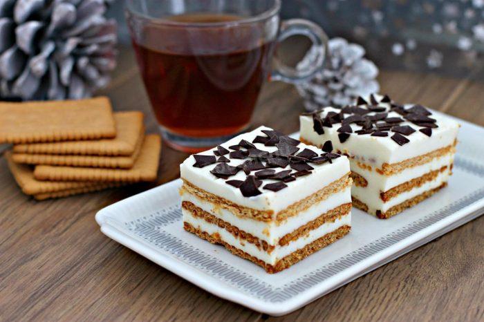 Тортик с печеньем