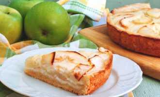 классический цветаевский пирог с яблоками