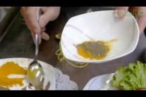 Улетная закуска пакоры— овощи в кляре