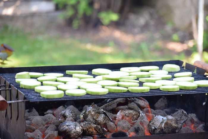 Как приготовить кабачки на гриле