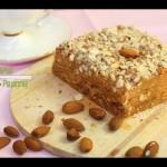 Вафельный торт со сгущенкой без яиц