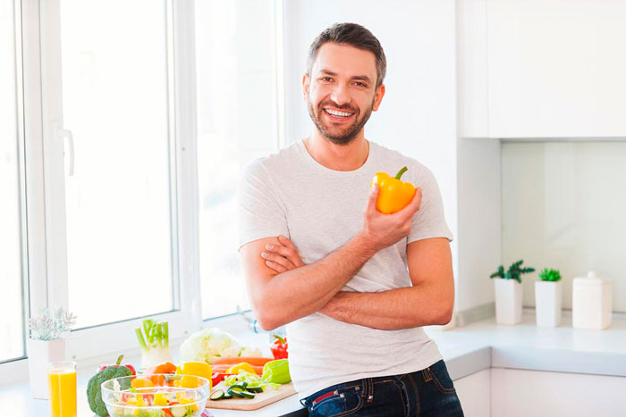 Основные принципы дробного питания у мужчин
