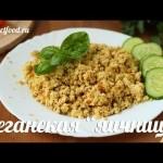 Веганская яичница без яиц Добрые вегетарианские рецепты — YouTube