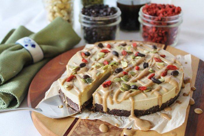 Веганский торт без выпечки