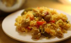 Вегетарианская паэлья