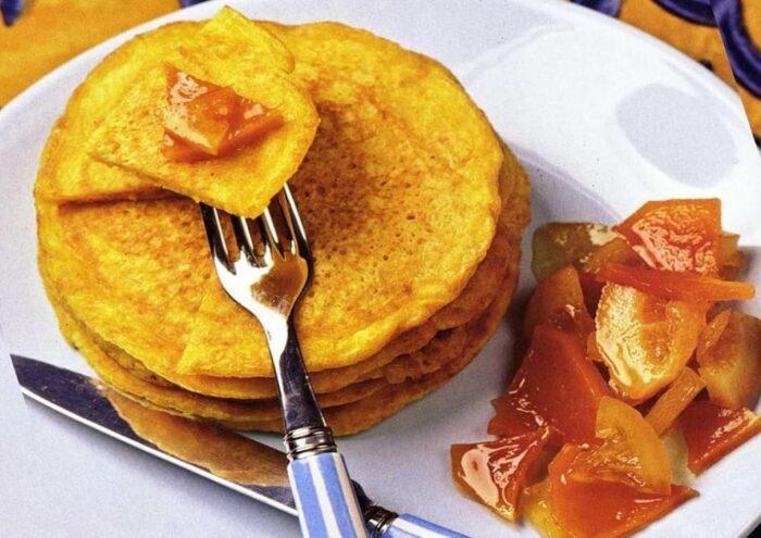 Сумасшедшие тыквенные блинчики на завтрак