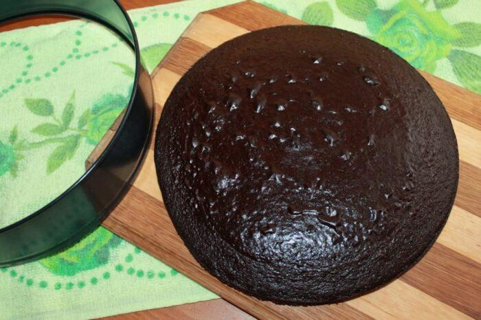 Как приготовить шоколадный бисквит без яиц