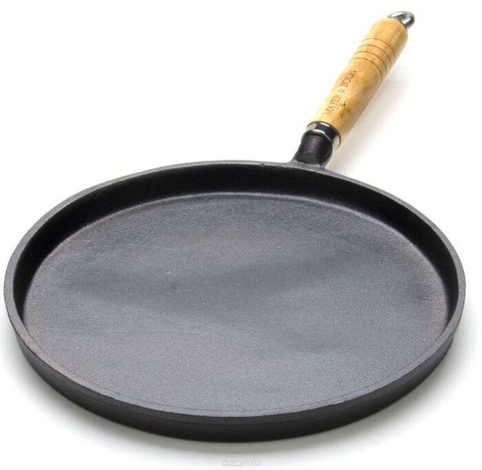 чугуная сковорода