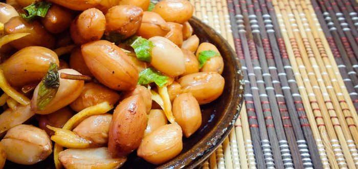 Маринованный арахис