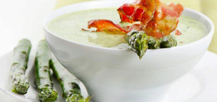 """Крем-суп из спаржи. Рецепт + бонус """"за кадром"""""""