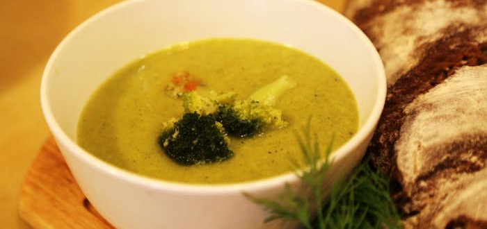 приготовление супа пюре из брокколи