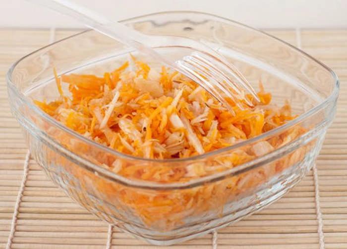 вкусный салат из тыквы