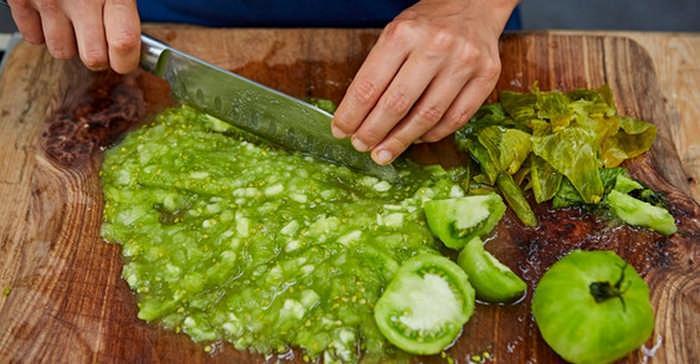 Потрясающий рецепт икры из зеленых помидоров