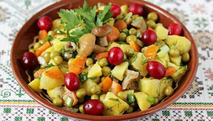 Таежный салат
