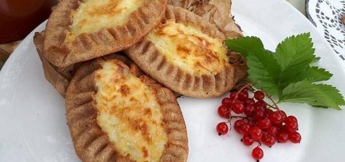 Пирожки калитки карельские