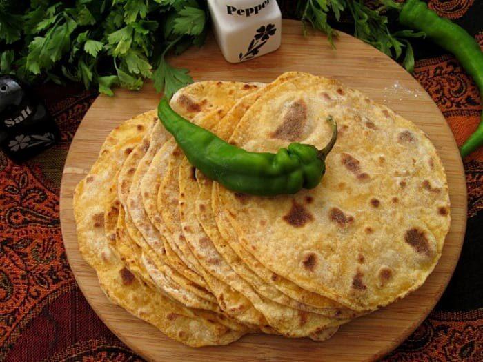 индийский хлеб чапати