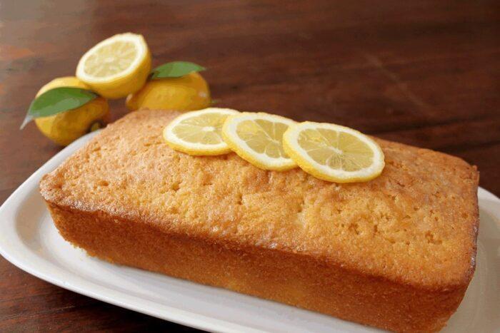 Быстрый и легкий рецепт лимонного кекса без яиц