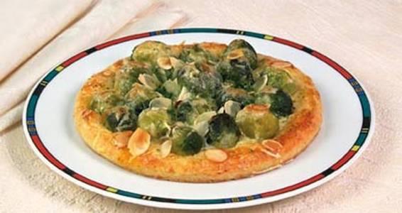 пицца с брюссельской капустой