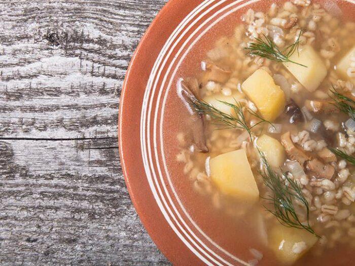 Как сварить вкусный домашний суп из замороженных грибов