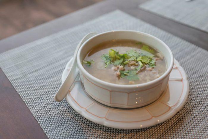 Сухоядение— суп с крупой