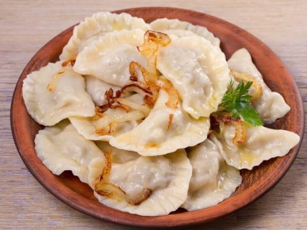 Вкусный рецепт: сытные и постные вареники с фасолью