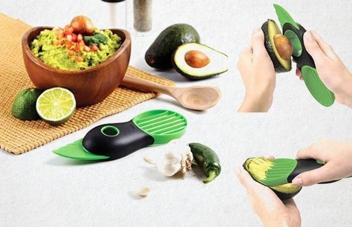 способ очистки авокадо