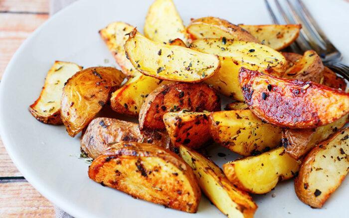 Картофель в соевом соусе пальчики оближешь