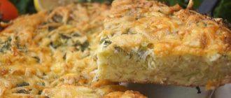 запеканка из капусты с сыром в духовке