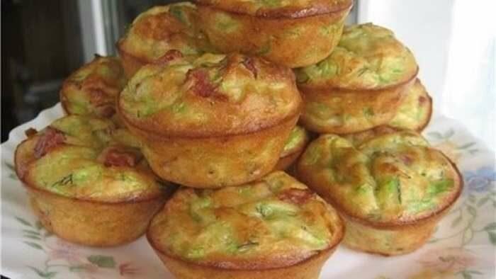 Диетические капустные маффины в духовке: 55 ккал на порцию