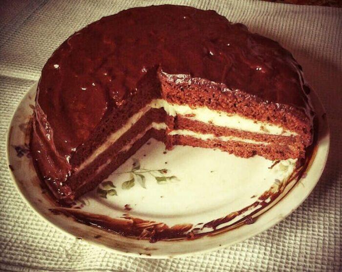 Сумасшедший пирог Crazy cake