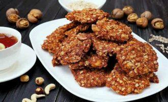 Печенье из овсянки с орехами - 6 легких диетических десертов