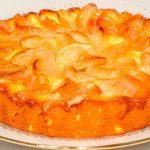 Рецепт пирога с тыквой и яблоками