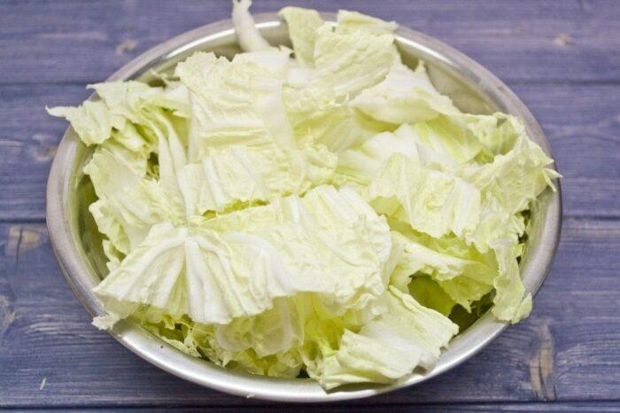 Как резать пекинскую капусту: лайфхаки новичкам