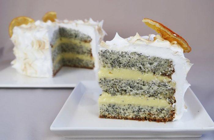 Как испечь вкусный домашний лимонный торт