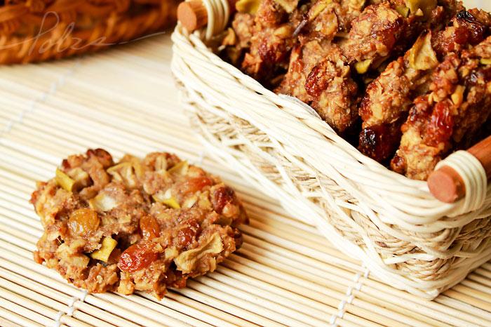 Печенье из орехов без муки фото
