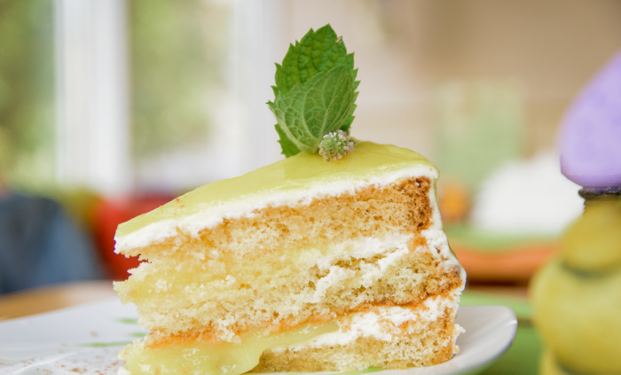Сметанный торт от Ольги Матвей