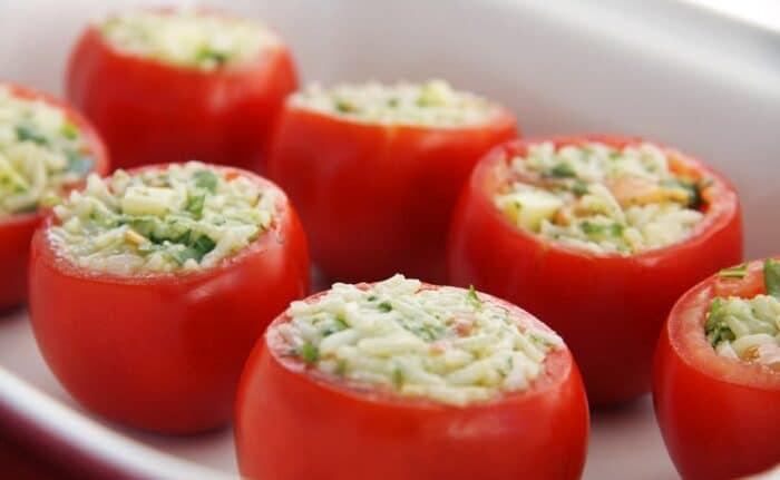 фаршированный помидор
