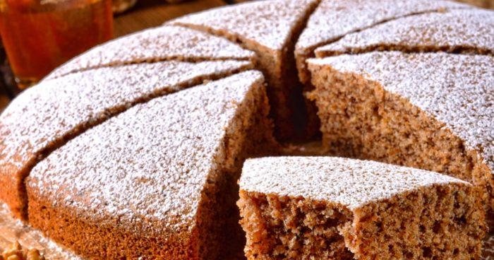 пирог из медового теста