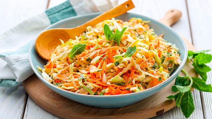 Классический капустный салат