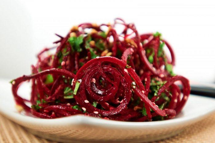 Корейский салат из свеклы