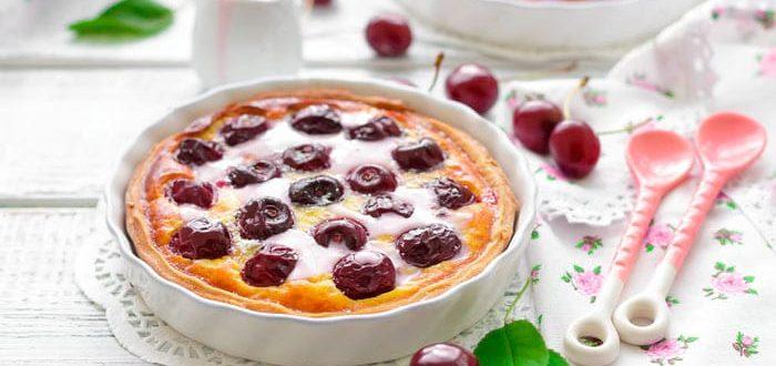 Французский пирог клаффути