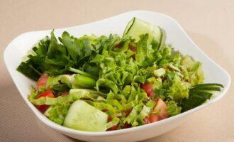 Рецепты диетических салатов без майонеза