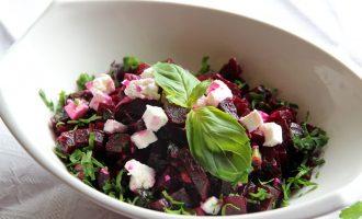 вкусные салаты из отварной свеклы