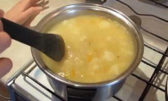 суп овсяный с цветной капустой