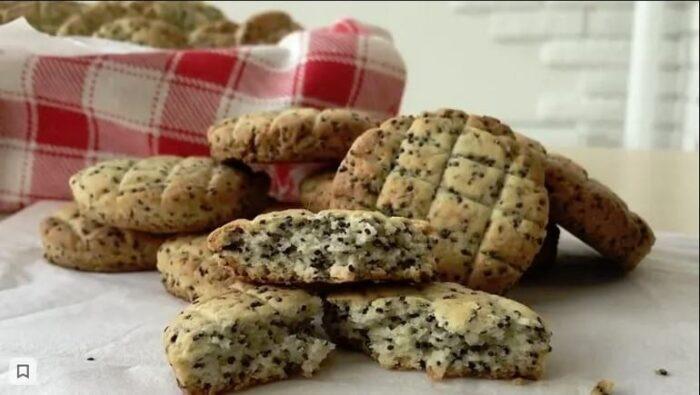 Веганское печенье с маком