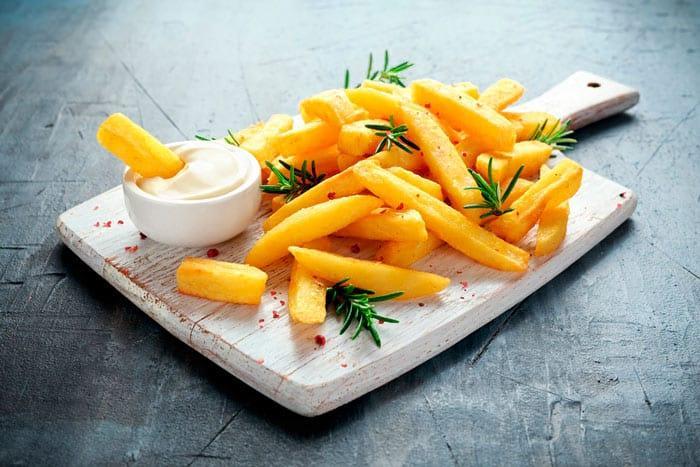 Как нарезать картофель фри фото