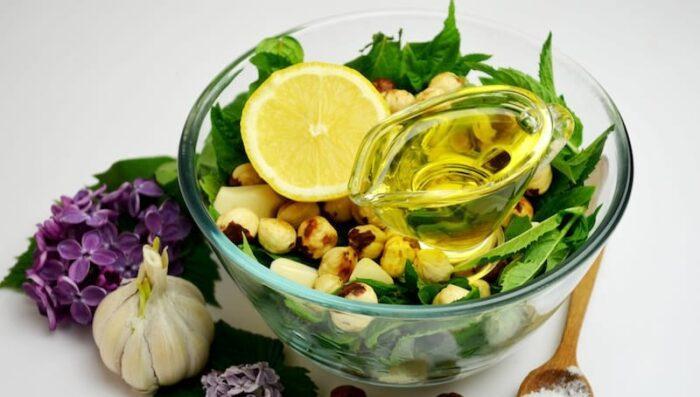 Соус с мятой и лимоном