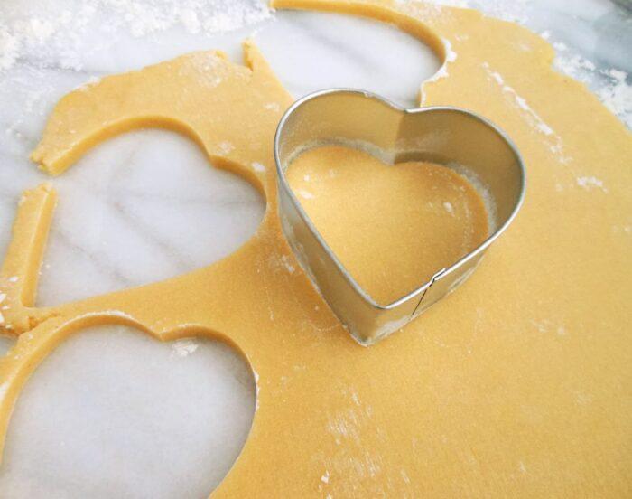 Песочное печенье без яиц - постный рецепт